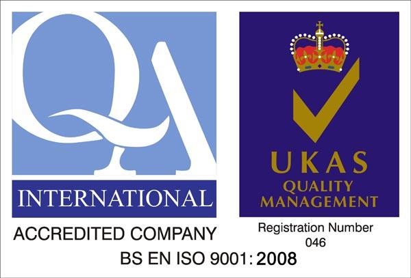 意大利维家壁挂炉获得UKAS认证的ISO9001:2